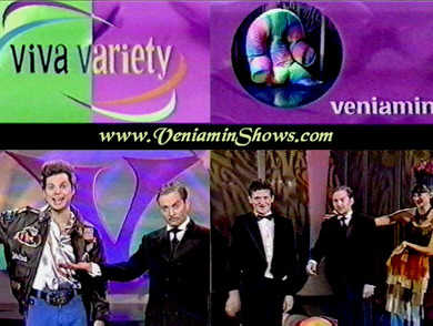 """Thank you for help with""Viva Variety""'s second season. Good Luck and (hopefully) see you in the future,"" The Producer's of Viva Variety -1775 broadway/ new york"